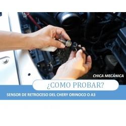 Como probar sensor de retroceso del Chery A3