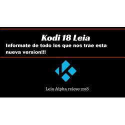 New version of Kodi 18 Leia Alpha 2 now available!