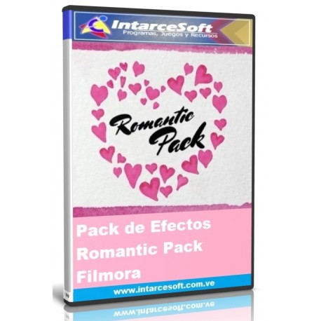 Pack of effects Romantic pack Filmora