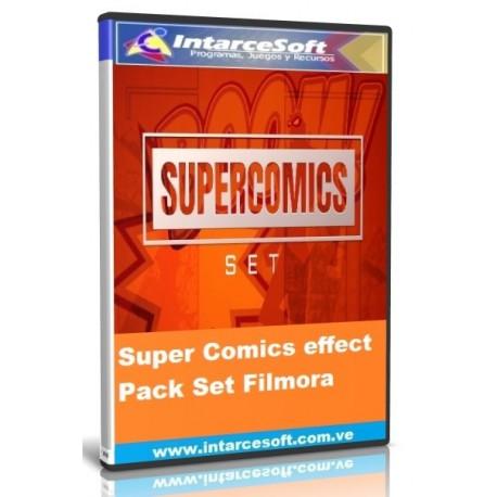 Super Comics effect Pack Set Filmora