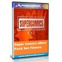 Pack de Efectos Super Comics Set  Filmora