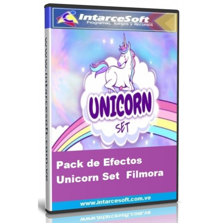 Pack de Efectos Unicorn Set  Filmora