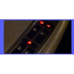 LED lights for the control panel of windows of the Chery Orinoco