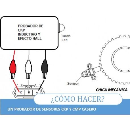 How to build a CKP or CMP automobile sensor tester