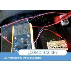 Probador de Carga de Batería
