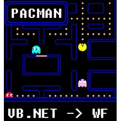 Pacman en VB.NET WinForms