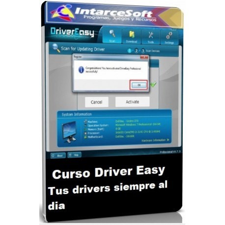 Easy Driver Course your drivers always up to date