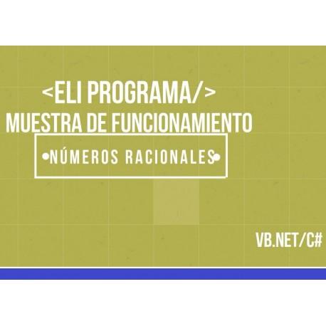 Programa completo de manejo de fracciones