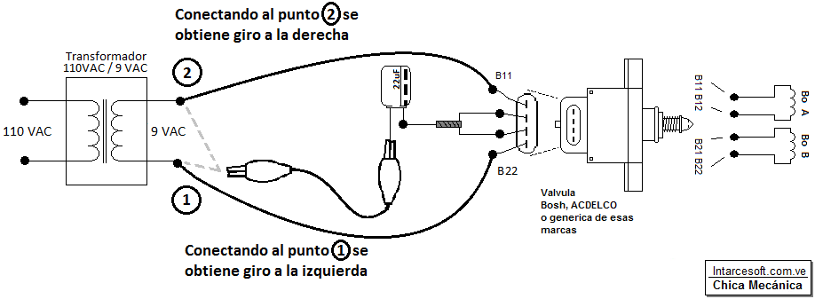 circuito iac 4 cables