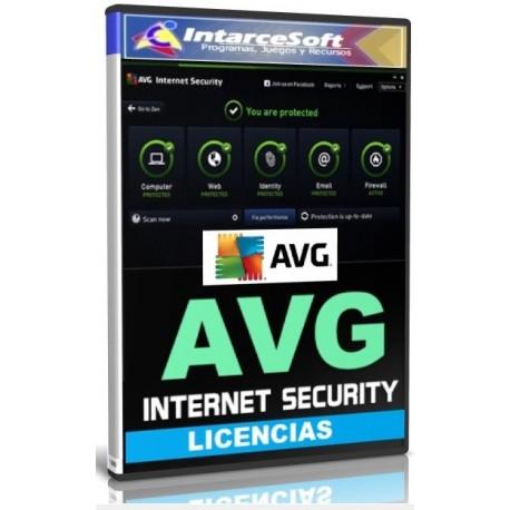 Licencias AVG Internet Security [JUNIO 2018] ACTUALIZADO