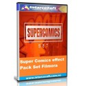 Pack de Efectos Super Comics Set  Filmora