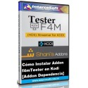 How to install addon F4mTester in Kodi 17.6 [addon dependency]