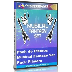 Pack de Efectos Musical Fantasy Set Pack Filmora