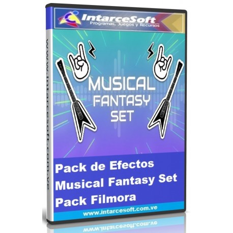 Pack de Efectos Musical Fantasy Set Pack Filmora