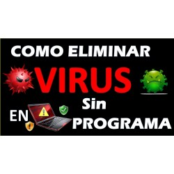 HOW TO REMOVE VIRUSES from my PC without PROGRAM on windows