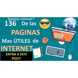 136 de las PÁGINAS Más Útiles y Versátiles de Internet