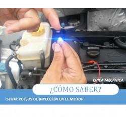 Probador de pulsos inyector