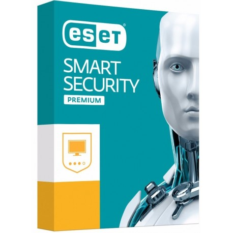 Licencia ESET® Smart Security Premium®  Antivirus 2018