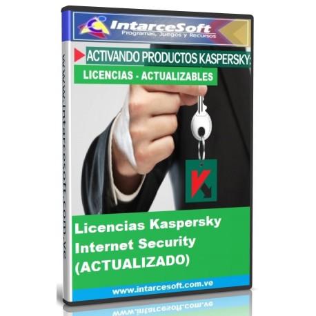 Licencias Kaspersky Internet Security 2018 [SEPTIEMBRE 2018] ACTUALIZADO
