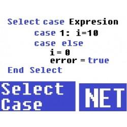 Select case visual basic net - Como usar y ejemplos