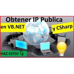 Obtener IP Publica en VB.NET y CSharp