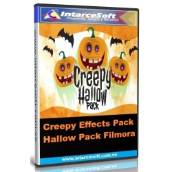 Pack de Efectos Creepy Hallow Pack Filmora