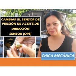 El sensor de presión de aceite hidráulico