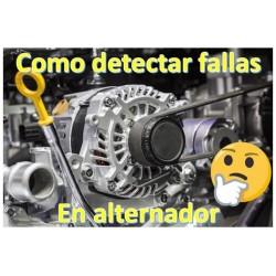 Como detectar o diagnosticar fallas en el alternador de tu carro