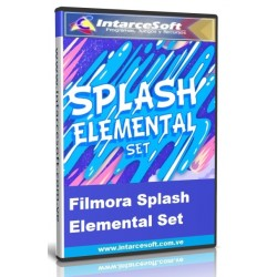 Filmora Splash Elemental Set | Filmora Effects Store