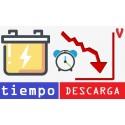 Tiempo de descarga de una batería