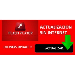 Como Actualizar Adobe Flash Player sin Internet