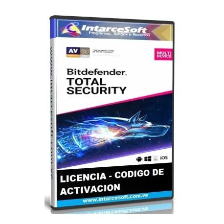 Licencia Bitdefender Total Security Key [MARZO 2019] ACTUALIZADO