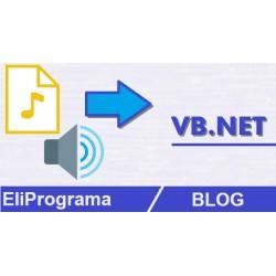 Reproducir Sonido in VB.NET
