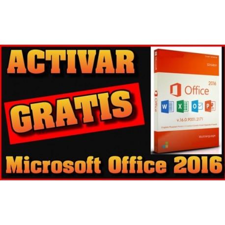 Activar el Microsoft Office 2016 Gratis
