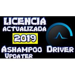 Ashampoo Driver Updater: Serial [JUNIO 2019] ACTUALIZADO