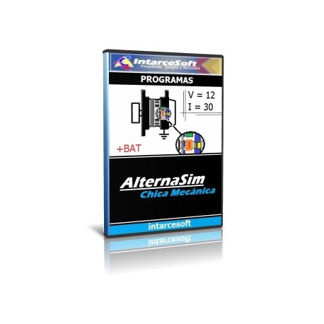 Car alternator simulator - AlternaSim
