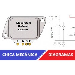 Diagrama de regulador de voltaje Ford