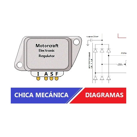 Diagrama regulador de ford