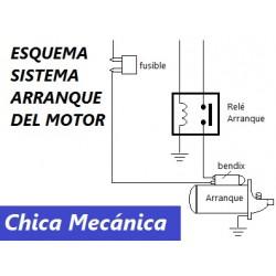 Diagrama de arranque del motor