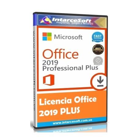 Licencia Office 2019 PLUS Original [OCTUBRE 2019] ACTUALIZADO
