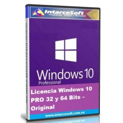 Windows 10 PRO 32 and 64 Bits License - Original [DECEMBER 2019]