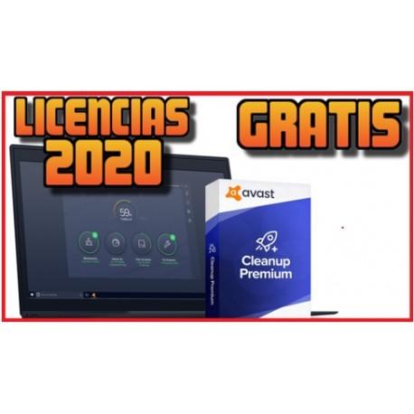 Licencias Avast Cleanup [ENERO 2020] ACTUALIZADO