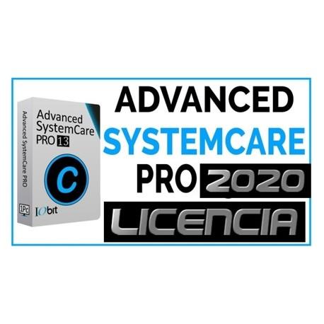 Licencias Advanced SystemCare 13 PRO [MARZO 2020]