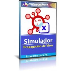 Simulador de Propagación de Virus Versión 1.1