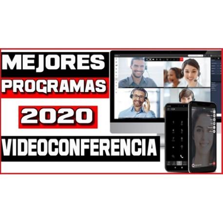 PROGRAMAS DE VIDEOCONFERENCIA