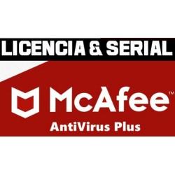 McAfee AntiVirus Plus Licencia [MAYO 2021]