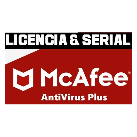 Licencias McAfee AntiVirus Plus [MAYO 2020]