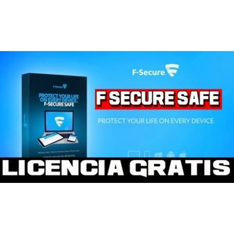 F-Secure TOTAL Licencia Original Gratis [ MAYO 2020 ]