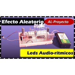 Como hacer Luces led Audio rítmicas.