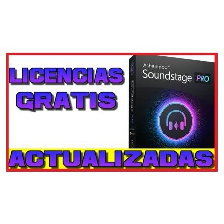 Licencias Ashampoo Soundstage Pro [JUNIO 2020]